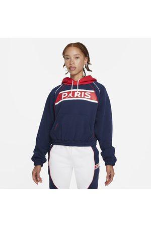 Nike Hoodie de lã cardada Paris Saint-Germain para mulher