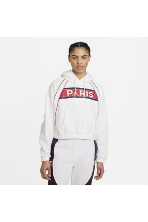 Nike Senhora Camisolas com capuz - Hoodie de lã cardada Paris Saint-Germain para mulher