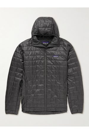 Patagonia Homem Casacos Outdoor - Nano Puff Quilted Shell Primaloft Hooded Jacket