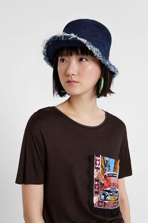 Desigual T-shirts & Manga Curta - T-shirt viscose bolso postal
