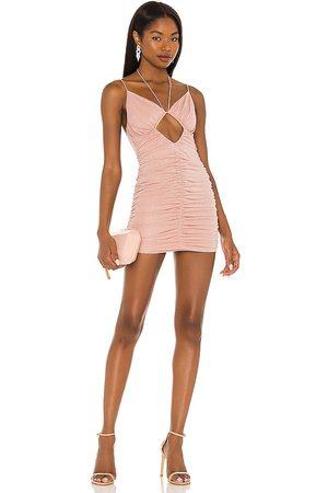 NBD Cheri Mini Dress in - Blush. Size L (also in M, S, XL, XS, XXS).