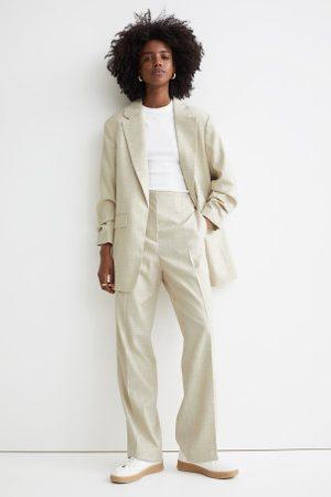 H&M Casaco com mangas franzidas