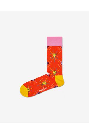 Happy Socks Pink Panther Pink Plunk Plink Socks Orange