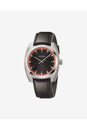 Calvin Klein Achieve Watches Brown Silver