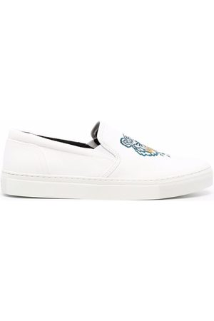 Kenzo Logo embroidered sneakers