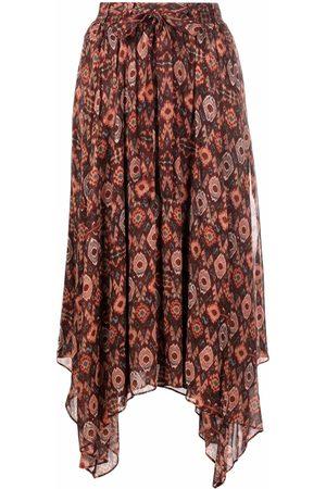 Ulla Johnson Asymmetric silk skirt