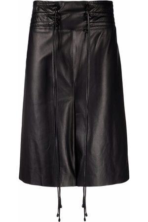 The Mannei Aydoun leather shorts
