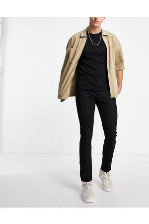 Topman Stretch slim jeans in black