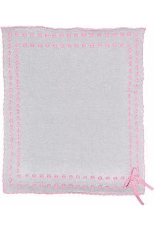Siola Contrast stitching scarf