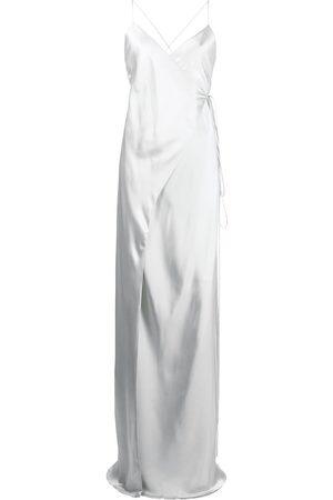 Michelle Mason Silk wrap dress