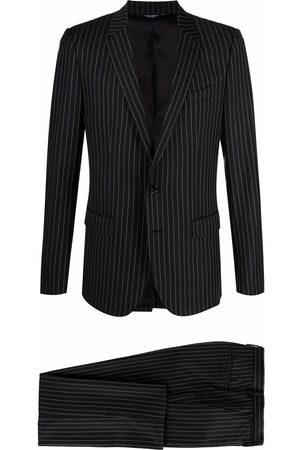 Dolce & Gabbana Homem Blazers - Single-breasted pinstripe blazer