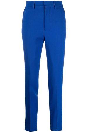 Ami Senhora Calças Justas - High-waisted slim-fit trousers