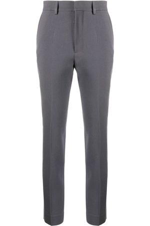 Ami High-waisted slim-fit trousers