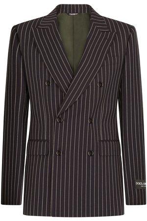 Dolce & Gabbana Double-breasted pinstripe blazer
