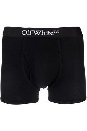 OFF-WHITE SINGLEPACK OW BOXER WHITE