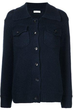 SABLYN Chest-pocket cashmere-knit shirt