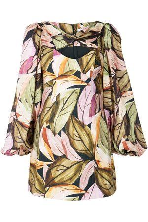 Acler Meadow keyhole shift dress
