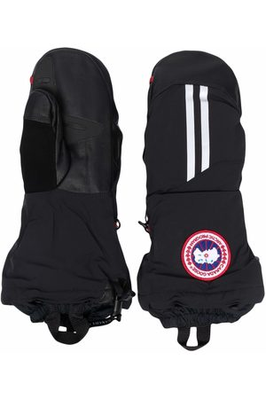 Canada Goose Logo patch padded gloves