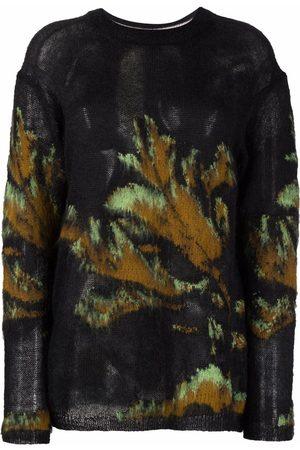 PAUL SMITH Botanical-print wool-blend jumper