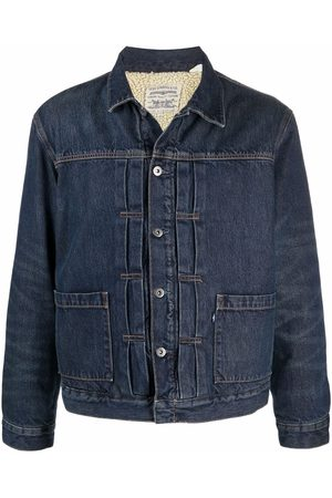 Levi's: Made & Crafted Denim sherpa jacket