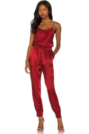 Cinq a Sept Finnley Jumpsuit in - Red. Size L (also in M, S, XS).