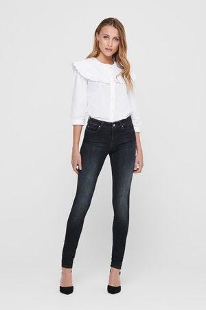 ONLY Jeans skinny de cintura baixa