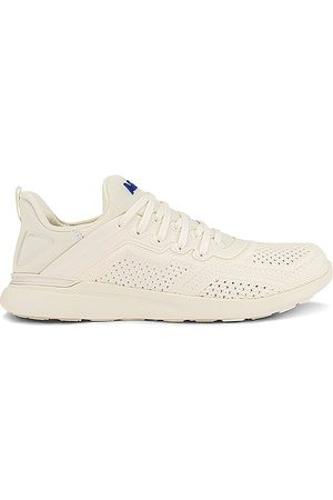 APL: Athletic Propulsion Labs TechLoom Tracer Sneaker in - Cream. Size 10 (also in 6, 6.5, 7, 7.5, 8, 8.5, 9, 9.5).