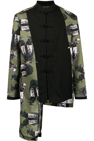Comme Des Garçons Homme Plus Panelled asymmetric jacket