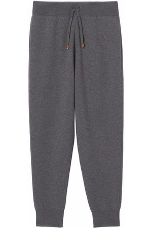 Burberry Monogram-embroidered track pants