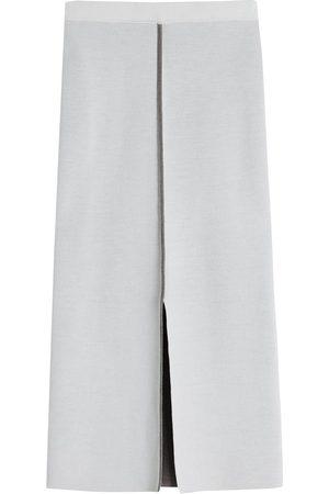 Victoria Victoria Beckham Contrasting trim midi skirt