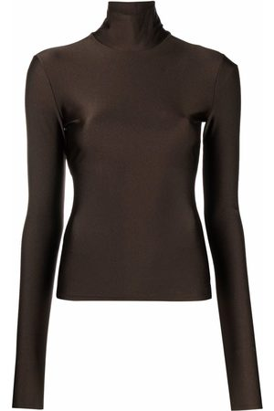The Andamane High-neck long-sleeve top