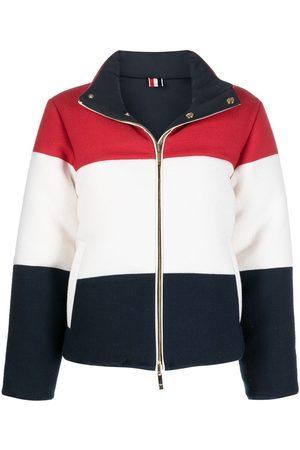 Thom Browne Colour-block puffer jacket