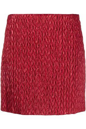 Miu Miu Padded mini skirt
