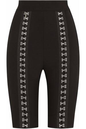 Dolce & Gabbana Hook-and-eye fastening detail shorts