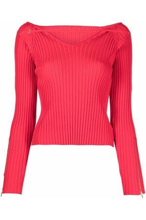 Jacquemus Oro ribbed-knit jumper