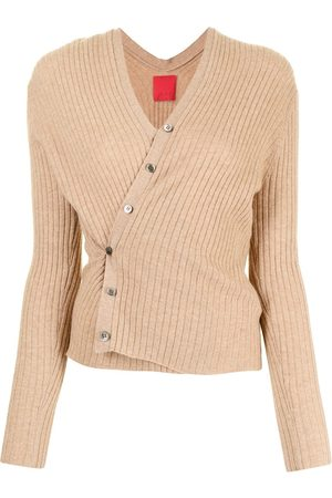 Cashmere In Love Inez ribbed-knit cropped cardigan