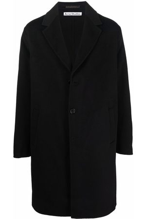 Acne Studios Notched-lapels single-breasted coat
