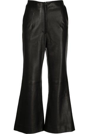 Khaite The Haley leather trousers