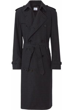 Burberry Checked Kensington trench coat