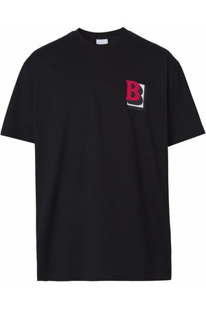 Burberry Letter-graphic T-shirt