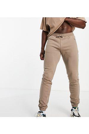 Bolongaro Trevor Tall Edmund zip detail jersey joggers-Neutral