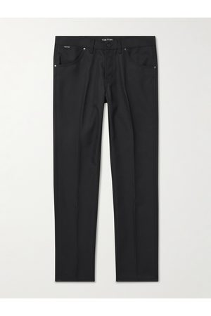 Tom Ford Slim-Fit Tech-Twill Trousers