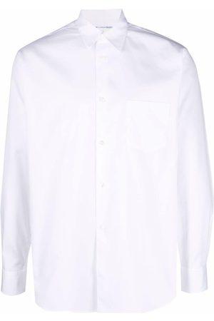 Comme Des Garçons Homem Formal - Button front poplin shirt