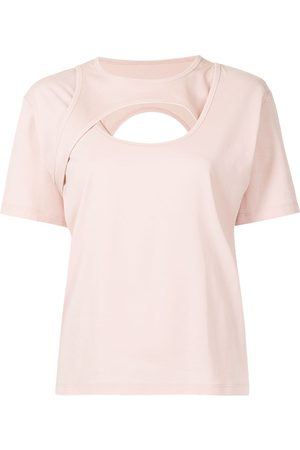 Dion Lee Holster cotton T-shirt
