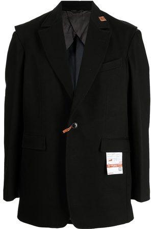 Maison Mihara Yasuhiro Distressed button-up blazer