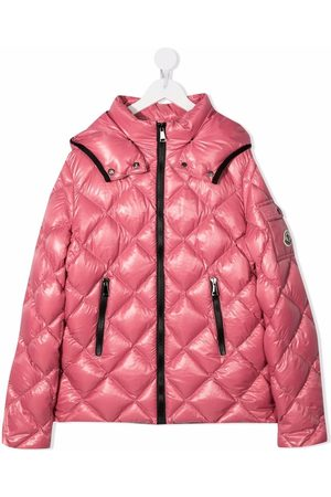 Moncler Menina Casacos - Quilted hooded down jacket