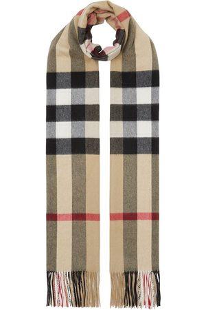 Burberry Cachecóis & Echarpes - Vintage Check cashmere scarf