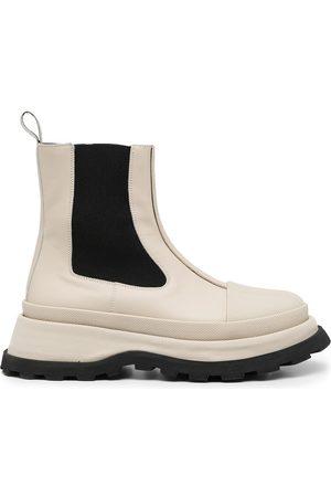 Jil Sander Chelsea chunky-sole boots