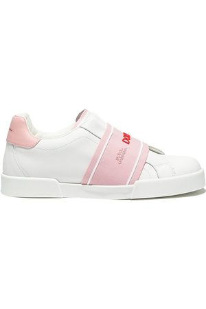 Dolce & Gabbana Kids Menina Ténis - Portofino low-top sneakers