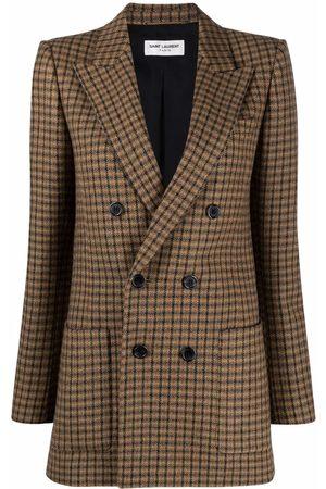 Saint Laurent Senhora Blazers - Double-breasted blazer